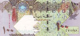 * QATAR 100 RIYALS ND (2003) P-26a UNC [QA213a] - Qatar