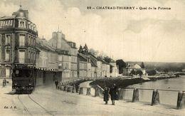 CHATEAU THIERRY QUAI DE LA POTERNE - Chateau Thierry