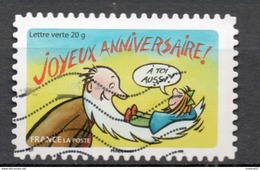 FRANCE 2014 Oblitéré : Bonne Année Toute L'année 2015 - France
