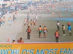 BICYCLE  - Daytona Beach - BIKE - OLD Postcard - Altri