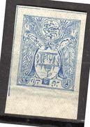 1907 Michel # 178B Mint (no Gum) (af12) - Afghanistan