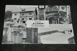 """1209- Gasthof-Café """"Klamm"""" Mit Birkenkeller, Eisenkappel-Ebrlach - Österreich"""