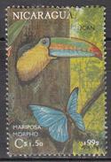 NICARAGUA   SCOTT NO. 1917 D   USED    YEAR  1992 - Nicaragua