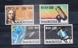 ILE MAURICE (MAURITIUS) - Timbre Poste Année 1986 - N° 625 à 628 (4 Timbres) - Halley's Comet - Mauricio (1968-...)