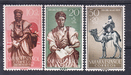SAHARA  1959.  DIA DEL SELLO .EDIFIL Nº169/171.  .NUEVA SIN  CHARNELA   CECI 2  Nº 70 - Sahara Español