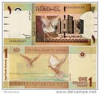 SUDAN      1 Sudanese Pound     P-64     9.7.2006     UNC - Soudan