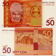 KYRGYZSTAN       50 Som       P-New       2016       UNC - Kirghizistan