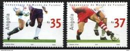 ANGOLA, 2002, WORLD FOOTBALL CHAMPIONSHIP, CE#1067-68, MNH - Angola