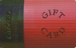 Cabela's Limited Edition Gift Card - Gift Cards