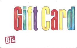 BJ's Gift Card - Gift Cards