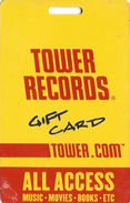 Tower Records Gift Card - Gift Cards