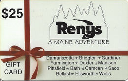 Renys Gift Card - Gift Cards