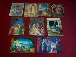 LOT DE 63  CARTES  THEME  DE LA RELIGION CHRISTIANISME   °° CARTES DE POLOGNE AVEC DESTINATION POUR LE ROYAUME UNI 3394 - Jezus