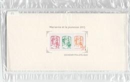 FRANCE 2013 BLOC N° 82 - MARIANNE ET LA JEUNESSE - SOUS BLISTER           --             TDA212 - Souvenir Blocks & Sheetlets