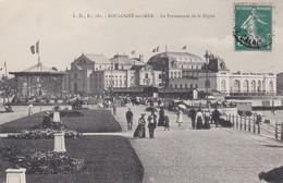 REF.GX . CPA . 62 . BOULOGNE SUR MER . LA PROMENADE DE LA DIGUE - Boulogne Sur Mer