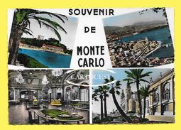 CPSM Souvenir De MONTE CARLO - Monte-Carlo