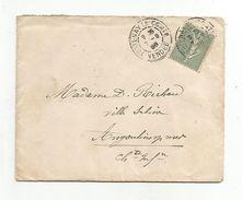 OBLITERATION MANUELLE SUR LETTRE DE FONTENAY LE COMTE VENDEE DU 7/9/1905 - Marcophilie (Lettres)