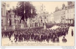 45 - Orleans - Hotel D'hardouineau - Francs-maçons - Libre-penseurs - Societes Diverses - Orleans