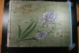 Ancien Album Pour 512 Cartes Postales (64 Pages X 8 Cartes) - Matériel