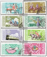 Mongolia 225-232 (complete.issue.) Fine Used / Cancelled 1961 Post- And Transportation - Mongolia