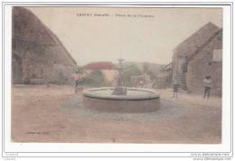 Seigny - Place De La Fontaine - France