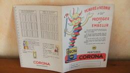 Année 60 Protège Cahier  Peintures  CORONA - Protège-cahiers
