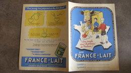 Année 60 Protège Cahier  FRANCE - LAIT - Protège-cahiers