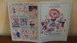 Année 60 Protège Cahier  La Chicorée  CANTINIERE - Protège-cahiers