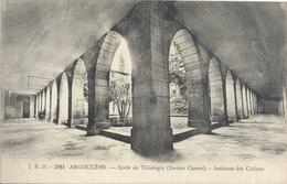 2081. ANGOULEME . ECOLE DE THEOLOGIE - INTERIEUR DES CLOITRES . NON ECRITE - Angouleme