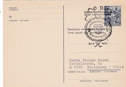 Langelois. Weintage. Postkarte Mit Bezahlter Antwort - Wein & Alkohol