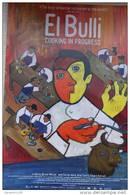 MINI AFFICHE.21X30.CINEMA.FILM : EL BULLI.FERRAN ADRIA.ORIOL CASTRO.EDUARD XATRUCH. - Affiches & Posters