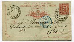 Itale Entier Postal 1891 - Italy