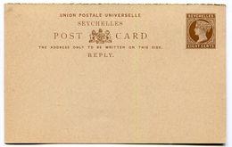 SEYCHELLES  Entier Postal Non Voyagé - Timbres