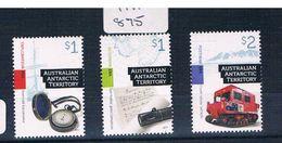 Australia  Aat 2017  3val Sheet  Muh AA875 - Australian Antarctic Territory (AAT)
