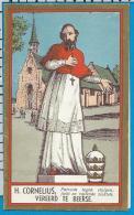 Holycard    Litanie   St. Cornelius   Beerse - Devotieprenten