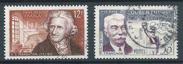 FRANCE 1956 . N°s 1081 Et 1088 . Oblitérés . - France