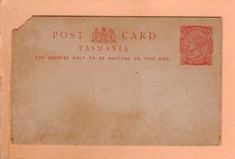 Cpa Carte Postale Ancienne  -post Card Tasmania One Penny - Australien