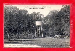 76-CPA TOCQUEVILLE EN CAUX - LE RESERVOIR DU PARC - (N°1147) - France