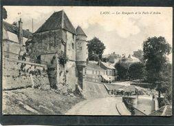 CPA - LAON - Les Remparts Et La Porte D'Ardon, Animé - Attelage - Laon