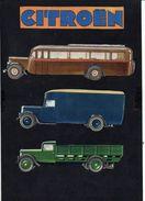 Publicité / Lot De Découpages Autocar,Camions,Automobiles Citroën , Ou ? ( Voir Verso ) - Publicités