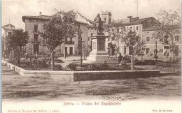 ESPAGNE - Jativa -- Plaza Del Espafioleto - Autres