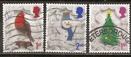 Grande-Bretagne Great Britain 2016 Noel Christmas Obl - 1952-.... (Elizabeth II)