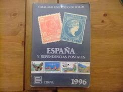 CATALOGO ESPAÑA EDIFIL CATALOGUE ESPAGNE 1996 - Spagna
