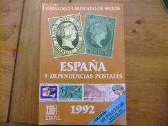 CATALOGO ESPAÑA EDIFIL CATALOGUE ESPAGNE 1992 - Spagna