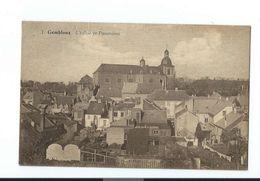 Gembloux - Panorama Vers L'église N° 1 - Circulé Vers 1945 - Edition Belge, Bruxelles - Gembloux