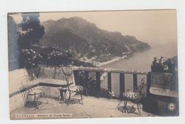 RAVELLO / BELVEDERE DEL PALAZZO RUFOLO - 1900 - Napoli (Naples)