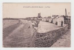 50 - SAINT VAAST LA HOUGUE / LA PLAGE - Saint Vaast La Hougue