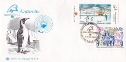 New Zealand 1989 PHILEXFRANCE 89 Antarctic Cinderella Covers (2) - New Zealand