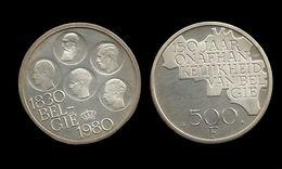 500 FRANCS 1980 . 150 ANS D'INDEPENDANCE DE LA BELGIQUE . LEGENDE FLAMANDE . - 1951-1993: Baudouin I
