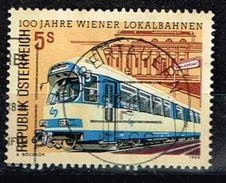 Österreich 1988 , Michel# O 100 Jahre Wiener Lokalbahnen - Tramways